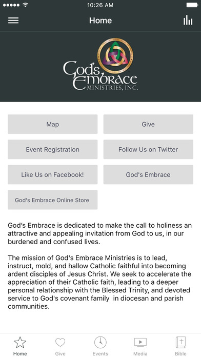 God's Embrace screenshot 1