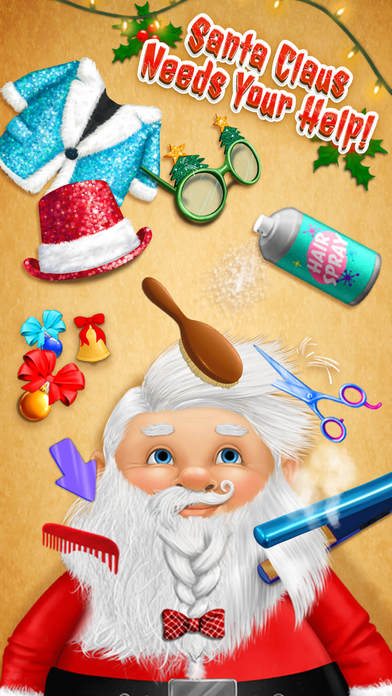 Christmas Animal Hair Salon 2 Crazy Santa Makeover screenshot 2