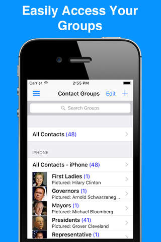 A2Z Contacts Free - Contact Manager & Address Book - náhled