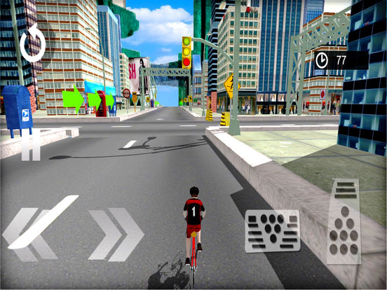 Bicycle Riding Racer : A new free Sport-s Game screenshot 6