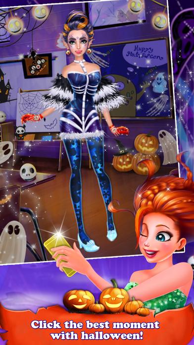 Halloween Holiday Girl Salon screenshot 5