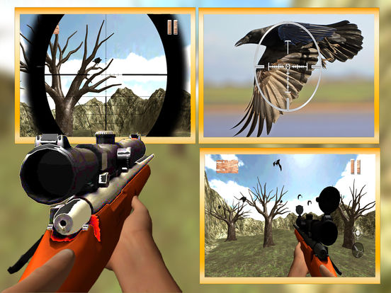 Forest Crow Hunting : 3D Birds Sniper Kill Shot screenshot 5