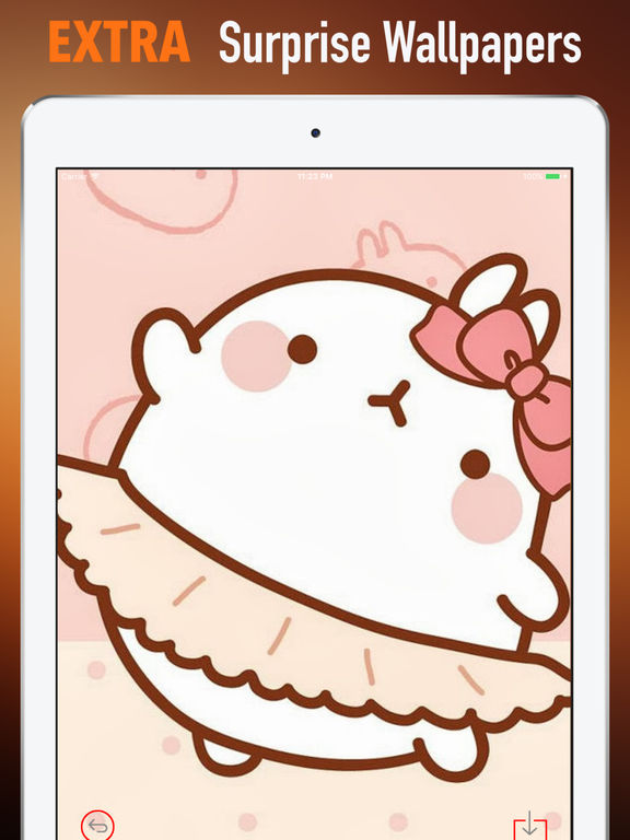 HD Wallpapers for Molang-Art pictures screenshot 8