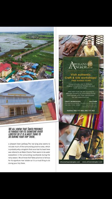 Cambodia Tourism Magazine screenshot 5