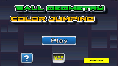 Ball Geometry Color Jumping - True Geometric War Is About To Begin screenshot 1