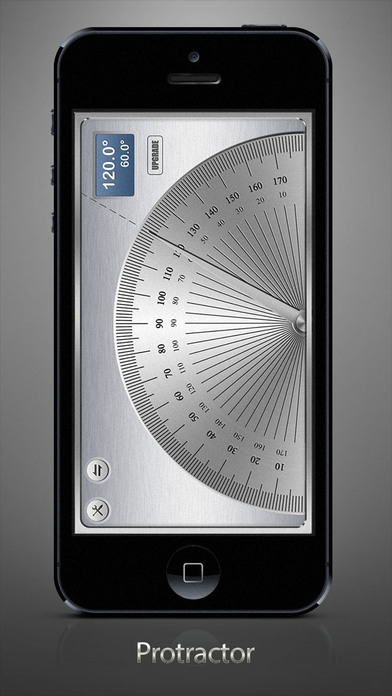 measuring app iphone angle meter tool to measure degrees and radians on the 12620