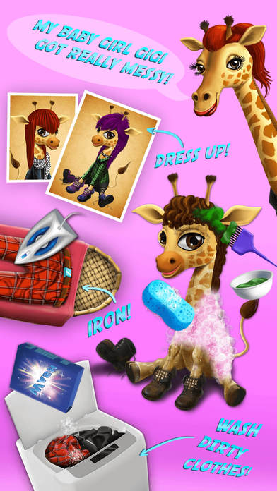 Baby Animal Hair Salon 2 screenshot 4