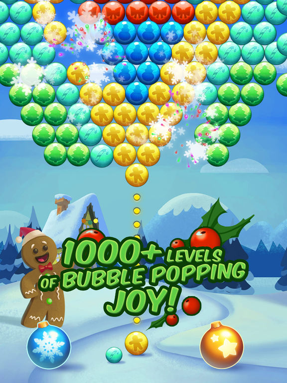 Christmas Cookie - Bubble Shooter screenshot 7