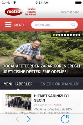Ereğli Metro - náhled