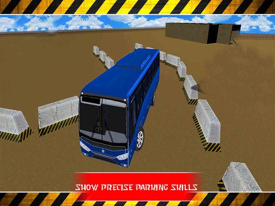 Snow Bus Parking : Free Par-King Sim-ulator Game-s screenshot 6