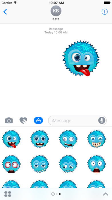 Funny emoticons - Stickers screenshot 2