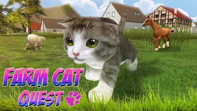 Farm Cat Simulator: Animal Quest 3D screenshot 1
