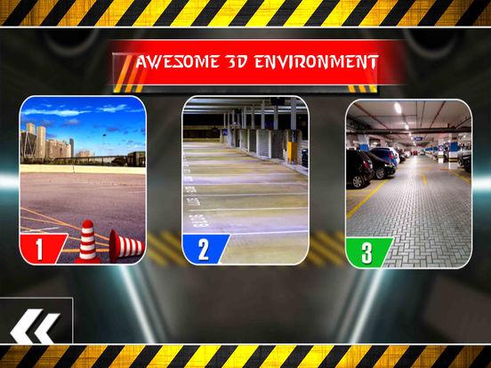 Garage Limousine Parking : 3D Free Par-King Game-s screenshot 5