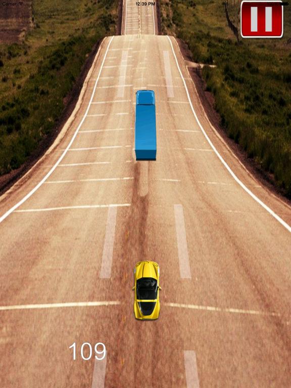 A Mad Dash Highway - Racing Hovercar Racing Game screenshot 8