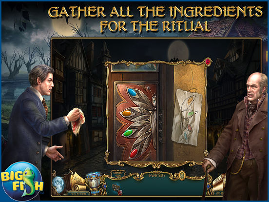 Haunted Legends: The Secret of Life - A Mystery Hidden Object Game screenshot 8