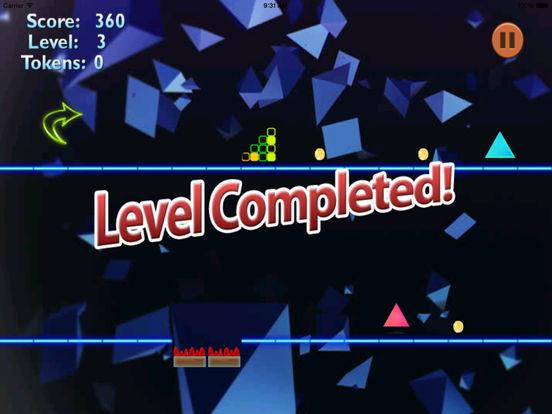 A Stellar Jump Geometry - Best Neon Bouncing Game screenshot 7