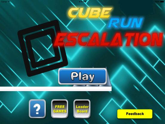 A Cube Run Escalation - Jump Run Go! screenshot 6