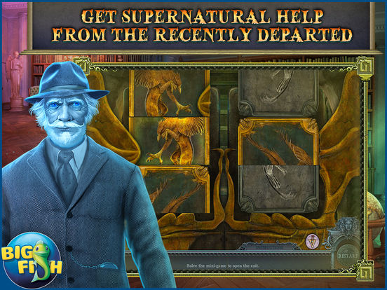 Secrets of the Dark: Mystery of the Ancestral Estate HD - A Mystery Hidden Object Game screenshot 3
