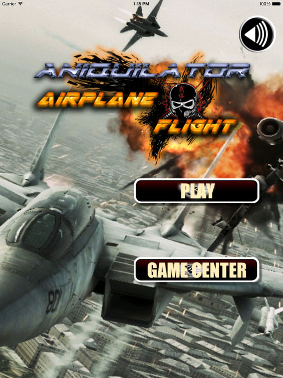 Aniquilator Airplane Flight - Aircraft Game screenshot 6