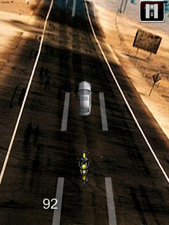A Fury Motocross - Traffic Game Bike Racing screenshot 10