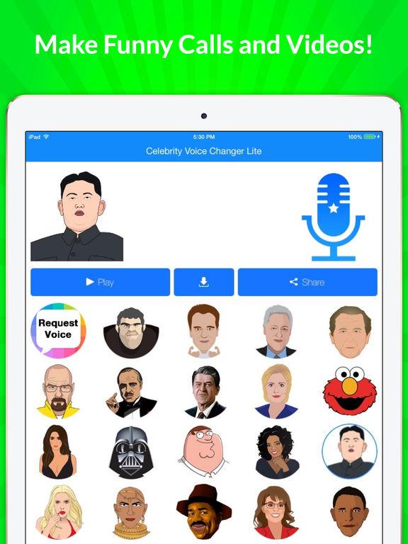 Celebrity Voice Changer - Face screenshot 10