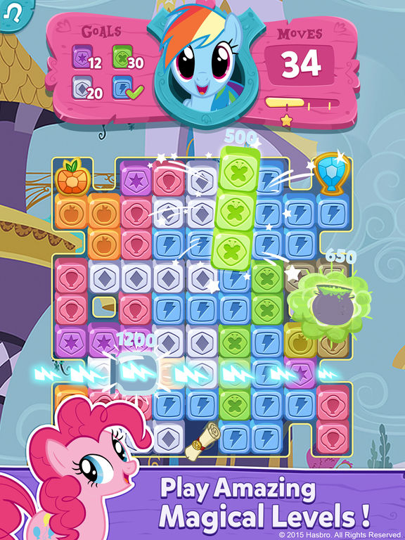 My Little Pony: Puzzle Party screenshot 8