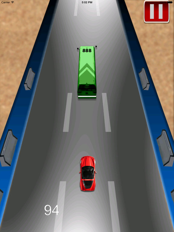 Adrenaline Vector Car Rush Pro - Adventure Race screenshot 9