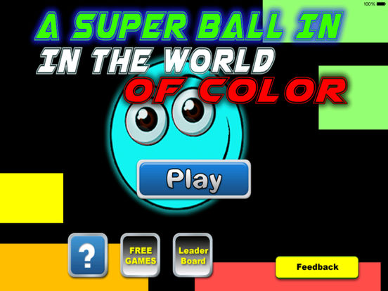 A Super Ball In The World Of Color PRO - Colorful Game Geometry screenshot 6