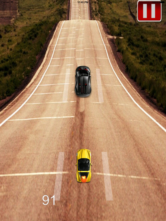 A Mad Dash Highway - Racing Hovercar Racing Game screenshot 7
