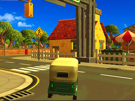 City Tuk Tuk Rickshaw : free simulation game screenshot 9