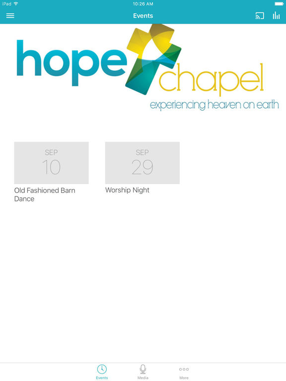 Hope Chapel Apex screenshot 4