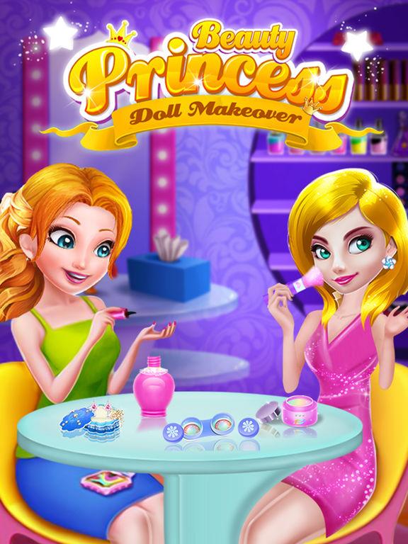 Beauty Princess Doll Makeover screenshot 6