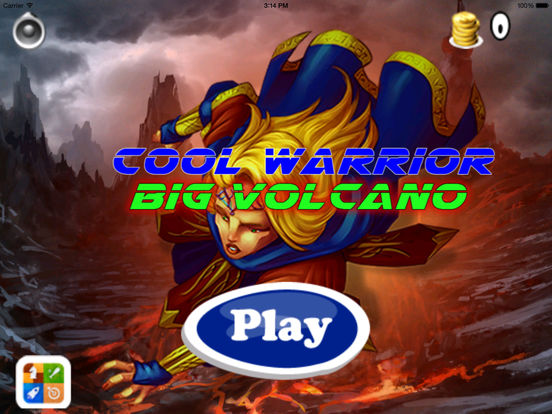 Cool Warrior Big Volcano PRO - Mega Game Jumps screenshot 6