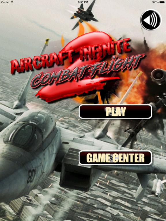 Aircraft Infinite Combat Flight 2 - Best Unlimited Of Adventure Game screenshot 6