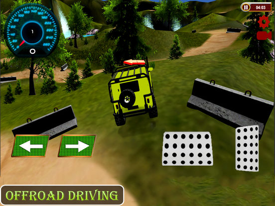 OffRoad Jeep Adventure : 3D Unlimited Mountains screenshot 5