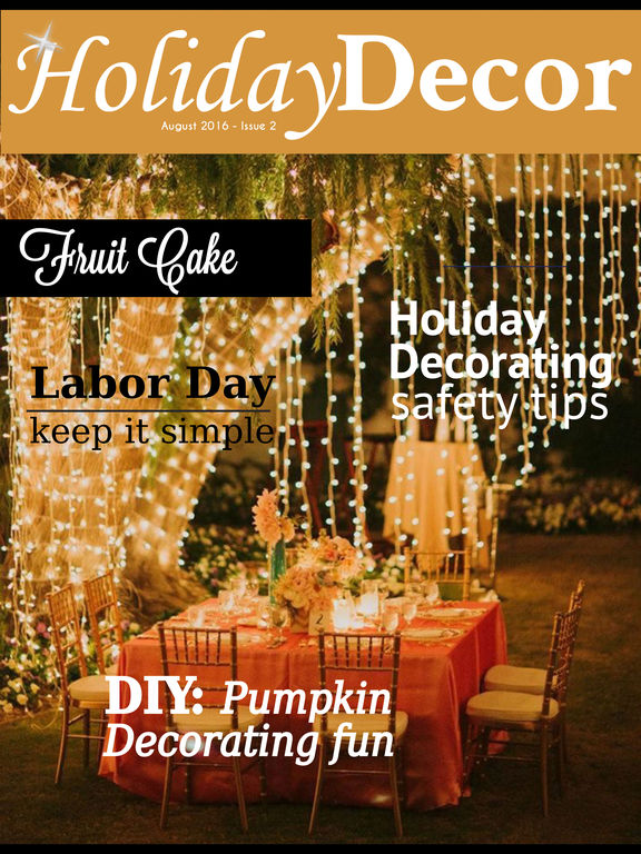 Holiday Decor Magazine screenshot 6