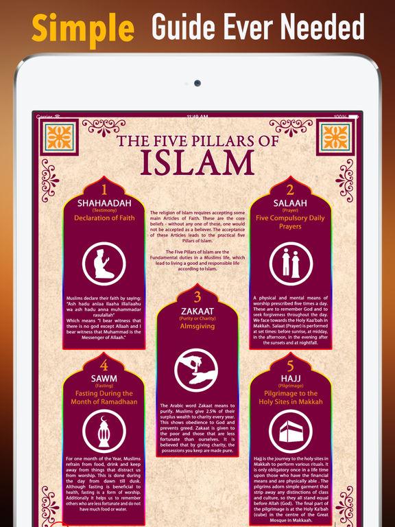 Islam Glossary: Cheatsheet with Study Guide screenshot 7