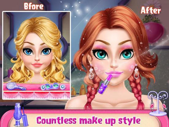 Princess Doll Hair Style screenshot 7
