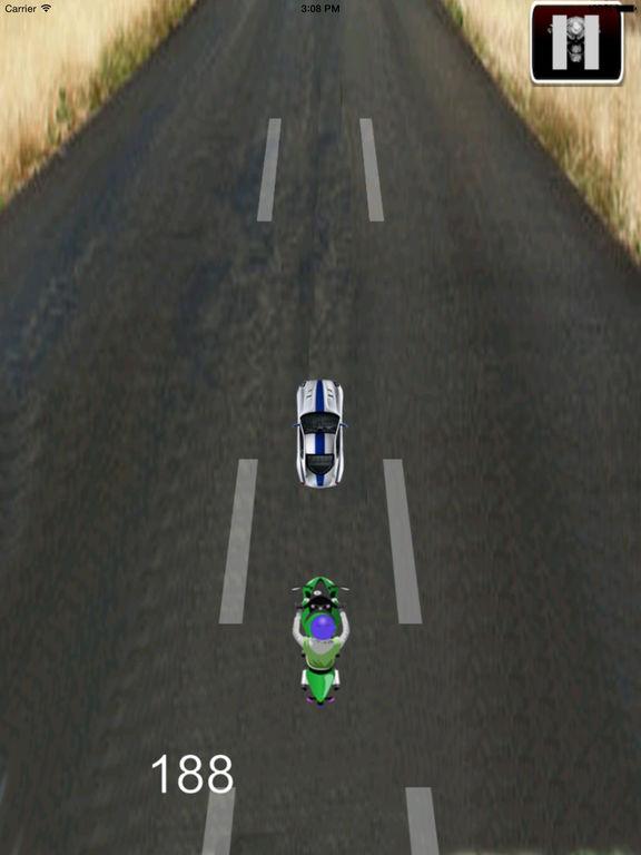Highway Motorcycle Traffic HD - Amazing Extreme Speed screenshot 9