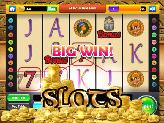 Cleopatra's Lucky Slots - Mega Gold Pyramid Casino screenshot 10