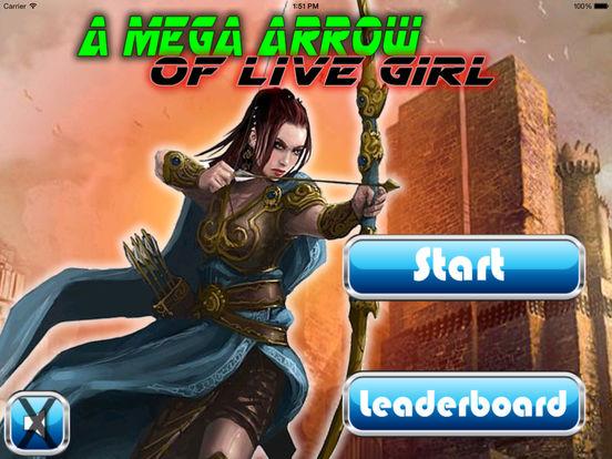 A Mega Arrow Of Live Girl HD - Super Fun Game Bow And Arrow screenshot 6