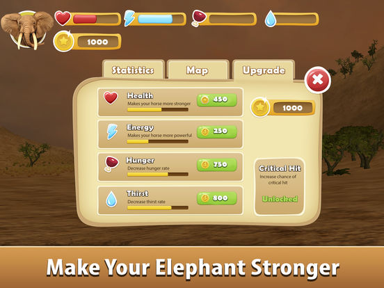 Big Elephant Simulator: Wild African Animal 3D screenshot 8
