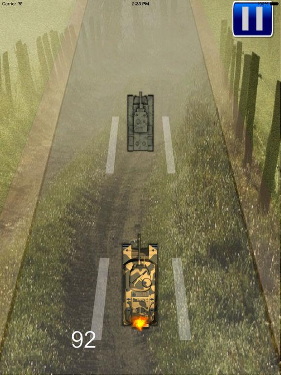 Amazing Tank Superhero - Race World of War Tanks Blitz screenshot 9