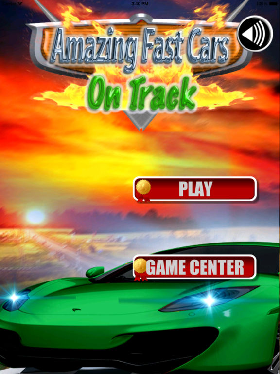 Amazing Fast Cars On Track - An Escape Speed screenshot 6