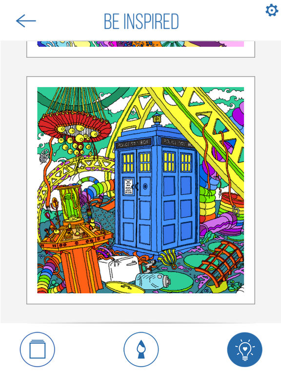 BBC Colouring: Doctor Who screenshot 9