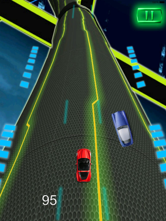 A Extreme Race Neon Pro - Amazing Speed Light Car screenshot 7