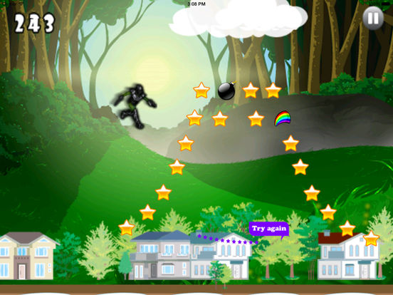 Cyber Ninja Jump Pro - Race of Mobile Androids screenshot 10