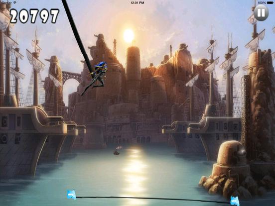 A Light Jumps Muntant - Superhero Adventure Game screenshot 10