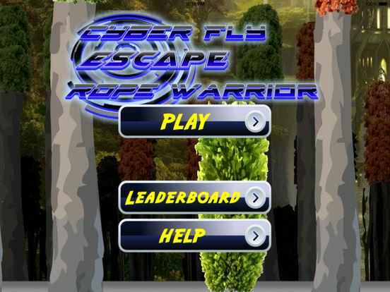 Cyber Fly Escape Rope Warrior Pro - Kingdom Secret Flying screenshot 6
