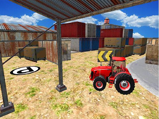Real Tractor Simulator 3D : Driving Game Free screenshot 5